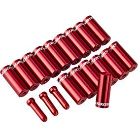 Jagwire Universal Pro Embouts 10x4mm Set, red